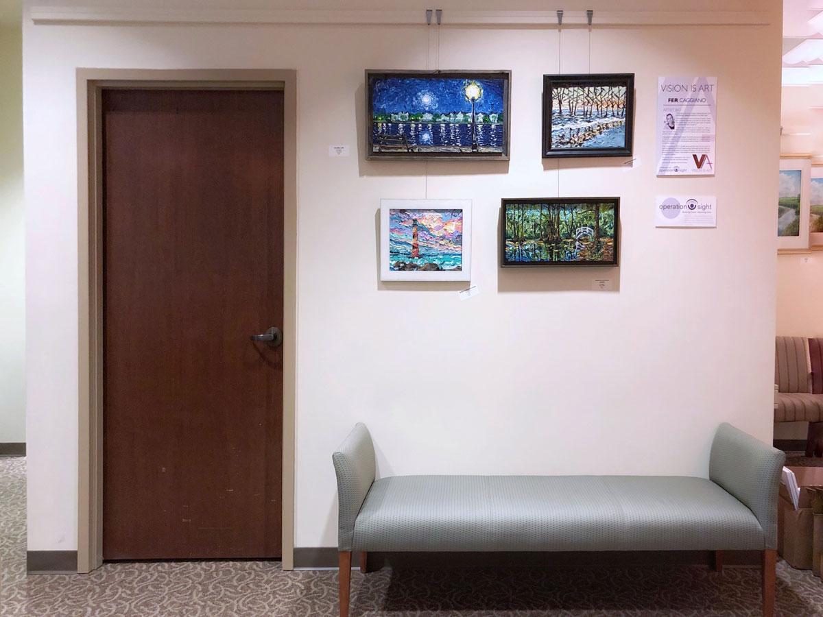 full wall display
