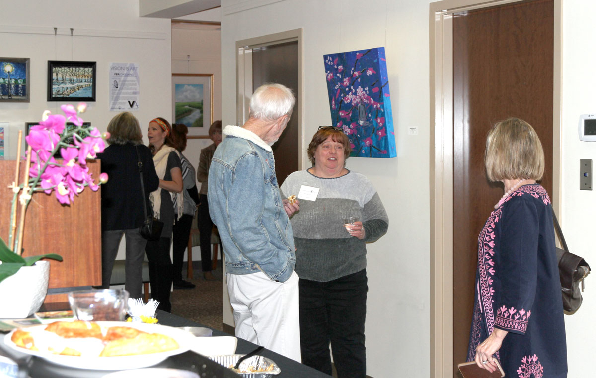 art reception