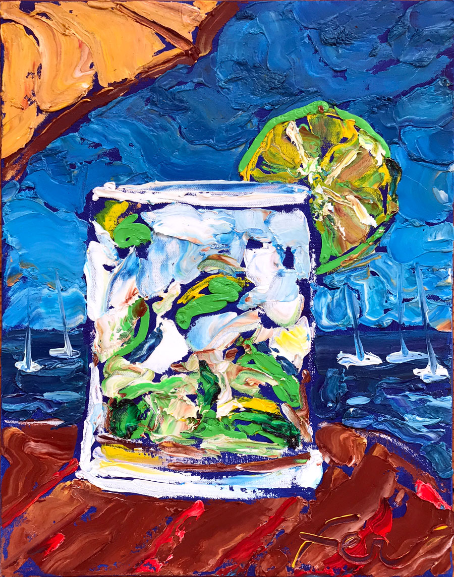 Caipirinha Drink Art