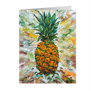 Pineapple Art Notecard